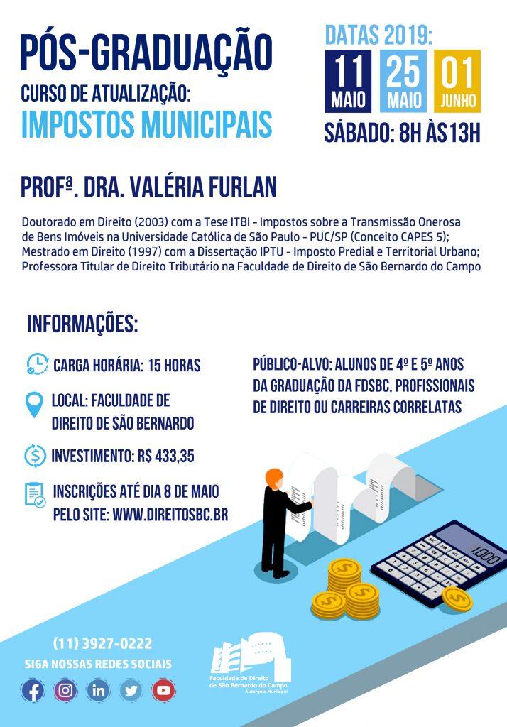 22b9942613 FDSBC - Direito São Bernardo discute Impostos Municipais em novo ...