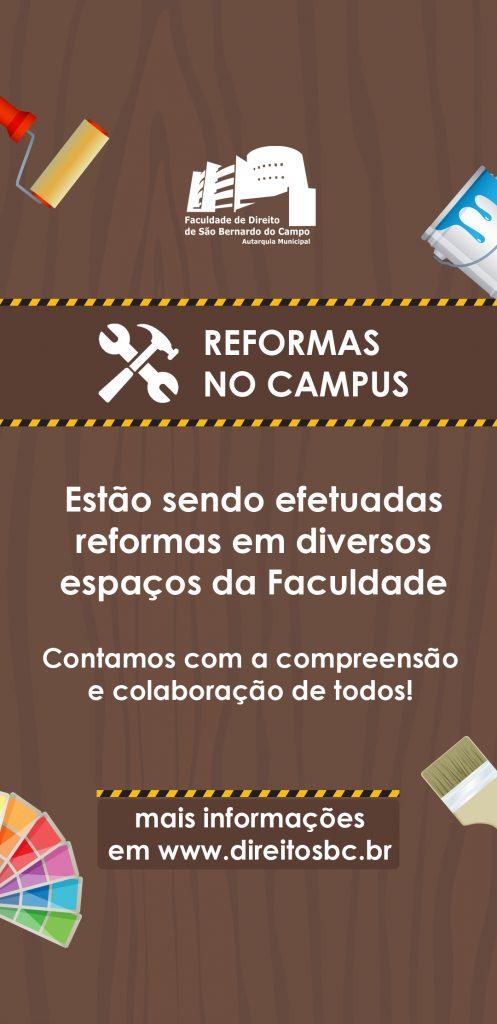 Reformas no campus